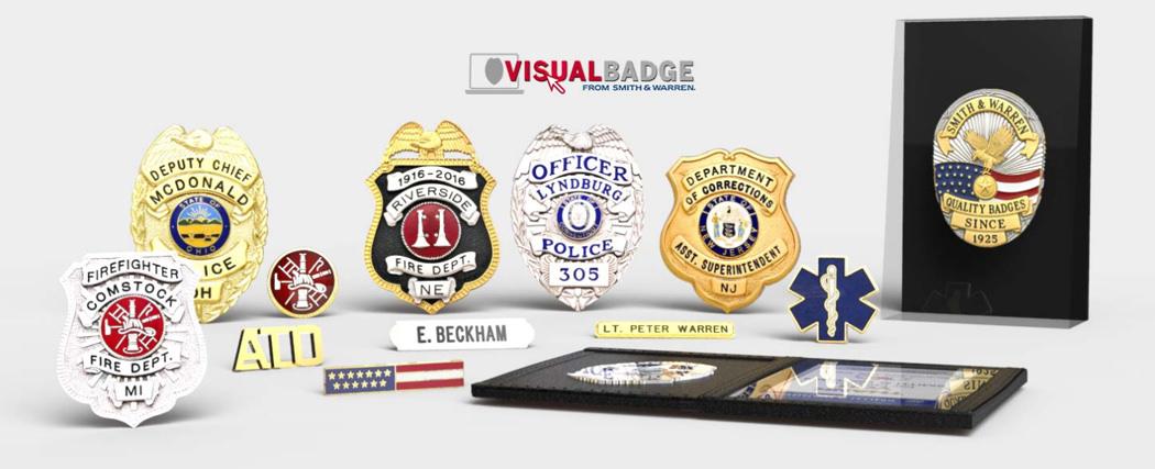 Smith Warren Custom Badges