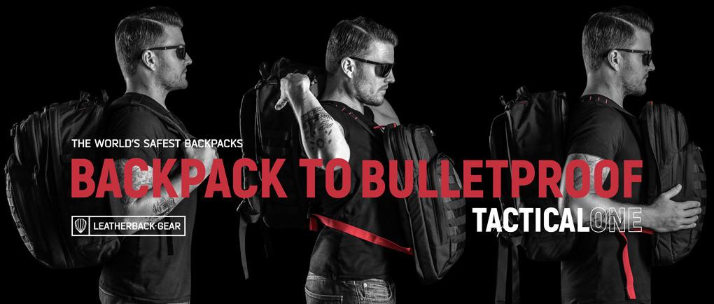 Leatherback Bulletproof Backpacks