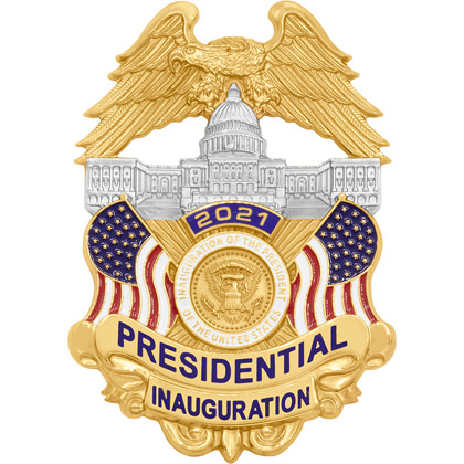 2021 Presidential Inauguration Collectible Badge