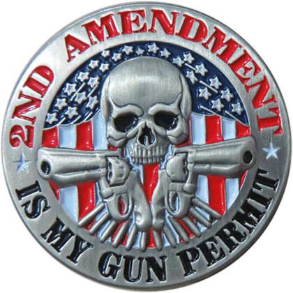 2nd Amendment Is My Gun Permit Pin