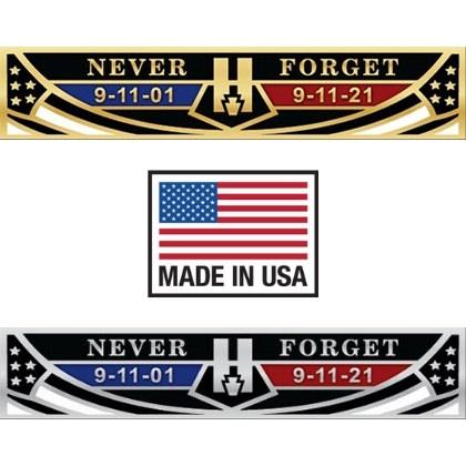 9-11 Never Forget Commemorative Bar