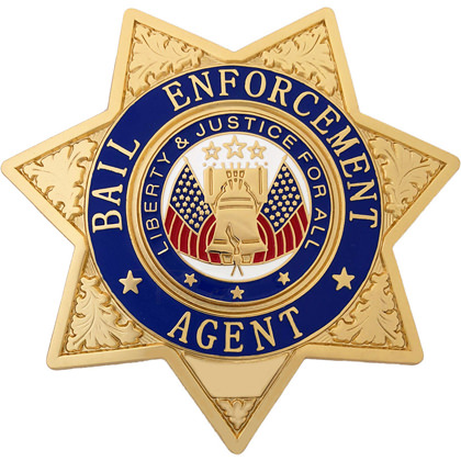 Bail Enforcement Agent Star Badge