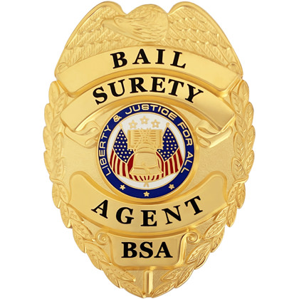 Bail Surety Agent Badge