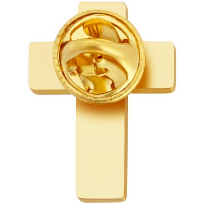 Chaplain Cross Lapel Pin