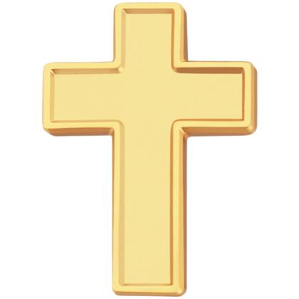 Chaplain Cross Label Pin