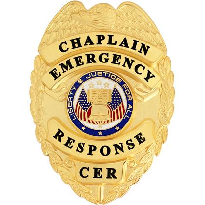 Chaplain Emergency Response Badge