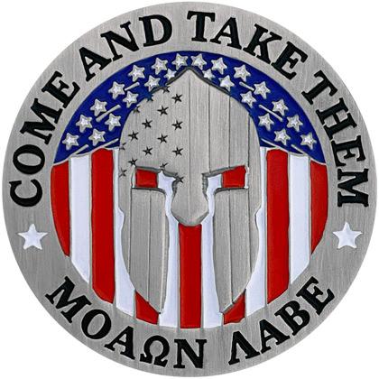 Come And Take Them – Molon Labe Pin