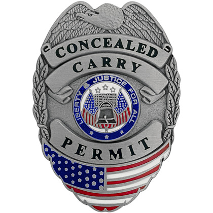 Concealed Carry Permit Mini Badge