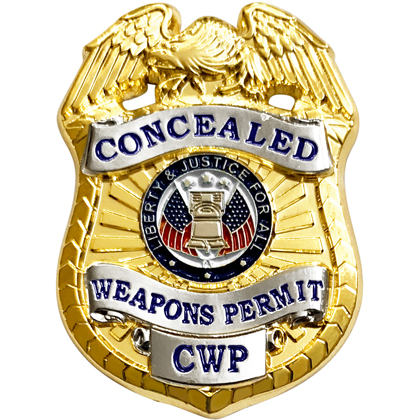 Concealed Weapons Permit Mini Badge