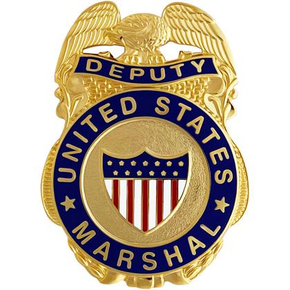 Deputy United States Marshal Mini Badge