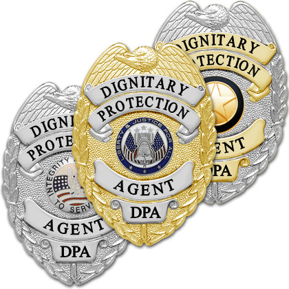 Dignitary Protection Agent Badge