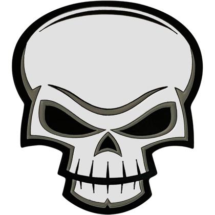 Evil Skull Pin