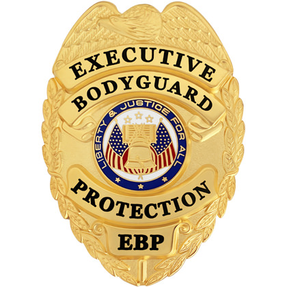 Executive Bodyguard Protection Badge