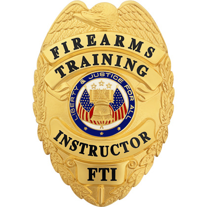 Firearms Training Instructor Badge