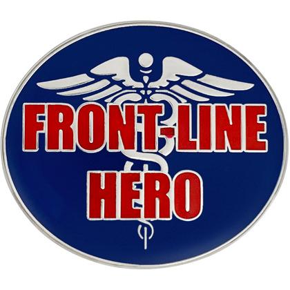 Front Line Hero Caduceus Pin