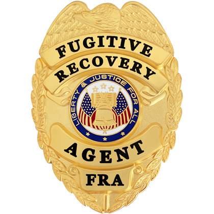 Fugitive Recovery Agent Badge