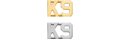 K-9 Collar Insignia