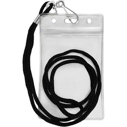 Lanyard Vertical ID Card Holder