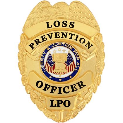 Loss Prevention Officer Badge