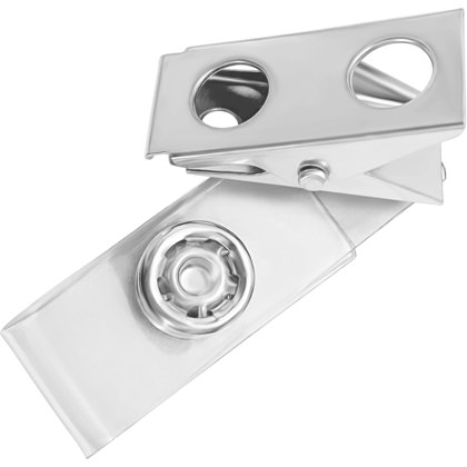 Metal Badge Clip For ID Holder
