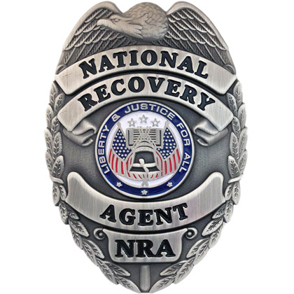 National Recovery Agent Badge