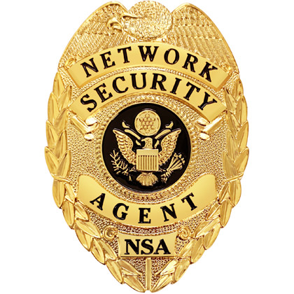 Network Security Agent Badge