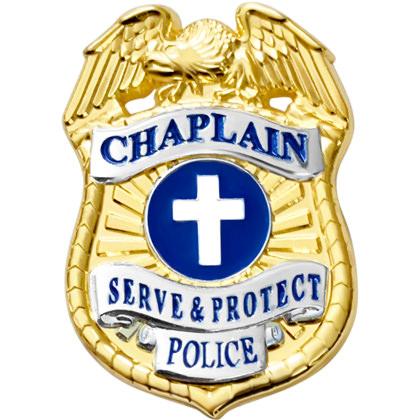 Police Chaplain Mini Badge