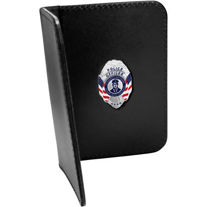 Police Officer Hero Mini Badge Credential Case
