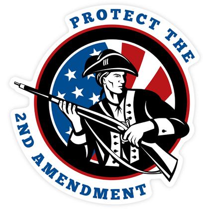 Protect The 2ND Amendment Sticker