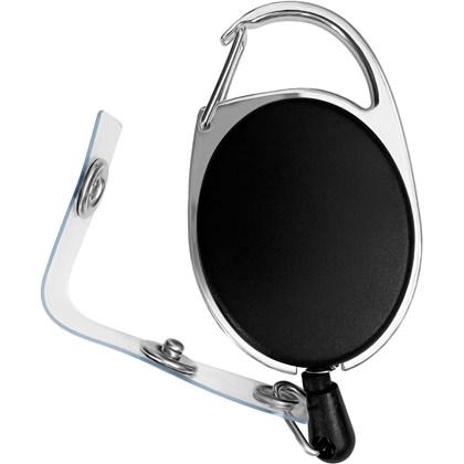 Retractable ID Badge Carabiner Reel Clip