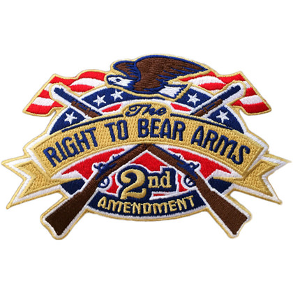 Right To Bear Arms 2nd Amendment Patch