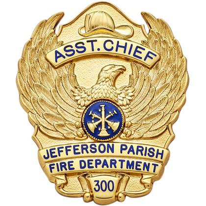 S637 Smith Warren Badge
