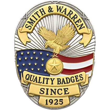 S642 Smith Warren Badge