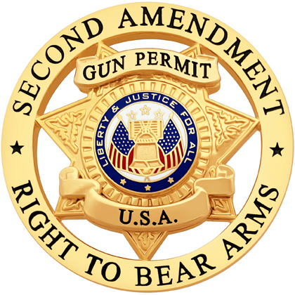 Second Amendment Right To Bear Arms Badge