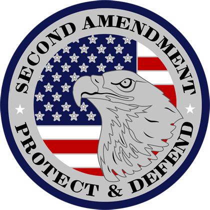 Second Amendment Protect And Defend Sticker