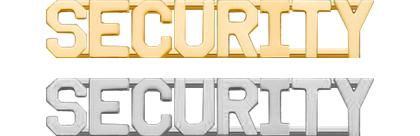Security Collar Insignia