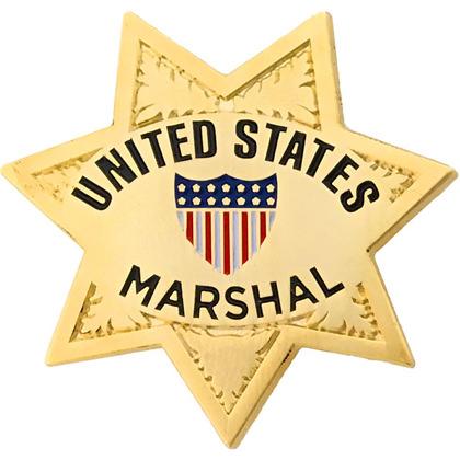 United States Marshal Mini Badge