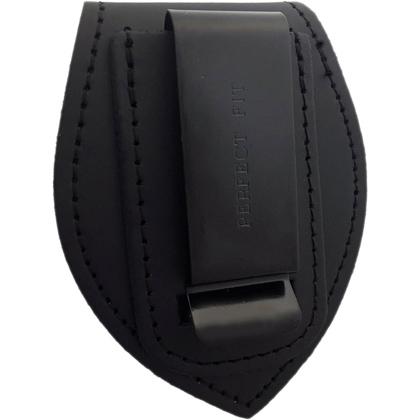 Universal Teardrop Belt Clip Badge Holder - Back